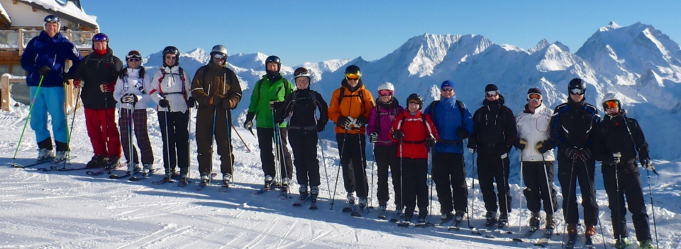Inside out ski group
